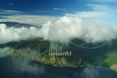 sin(earth) (Natural Fractal) Tags: ocean mountain nature photography hawaii paint paradise earth geometry expression air wave graph shangrila valley sin math physics calculus mauna kea waipio makai malka