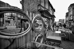 Turkey - Istanbul (luca marella) Tags: street city people bw white black reflection film analog mirror blackwhite market voigtlander bessa documentary social pb bn 400 bianco nero tmx marellaluca