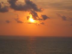 Sun's Setting Orange