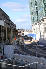 Midland Metro City Centre Extension (Will Swain) Tags: city uk travel england bus buses lines march birmingham metro britain centre transport tram line 10th extension trams midland midlands 2015