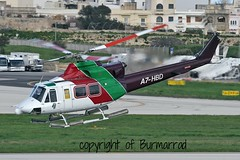 A7-HBD LMML 06-03-2015 (Burmarrad) Tags: cn gulf bell aircraft airline helicopters registration 36088 412ep lmml a7hbd 06032015