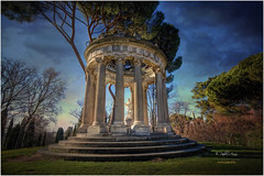 (050/15) El Templo de Baco en el parque del Carpicho (Pablo Arias) Tags: madrid park parque autumn trees espaa art photoshop arquitectura arboles arte cielo nubes otoo hdr texturas parquedelcapricho photomatix sigma1020 edificiosymonumentos madridantiguo olequebonito nikond300 greatmanipulart grouptripod oltusfotos goldenvisions pabloarias