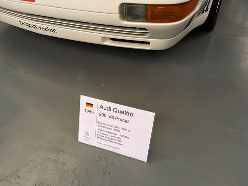 1989 Audi Quattro 200 V8 Procar