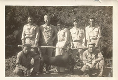 Scan_20160706 (76) (janetdmorris) Tags: world 2 history monochrome century america vintage army hawaii us war pacific military wwii grandfather monochromatic front 1940s ii ww2 granddaddy forties 20th usarmy allies allied