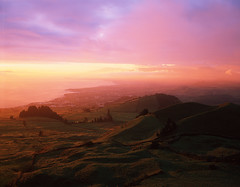 Sunrise, Azores, Sao Miguel (Vitaliy AK) Tags: sunrise film velvia fujifilm rvp 50 linhof technika 4x5 largeformat lf azores portugal saomiguel island tetenal e6 slide