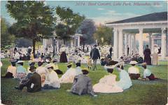 1921 Postcard (bentwhisker) Tags: wisconsin postcard milwaukee img lakepark 1921