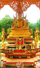 Wat Pa Kham Hua Chan, Khon Kaen. (Alain BKK) Tags: elephant thailand temple buddhism issan amazingthailand travelasia
