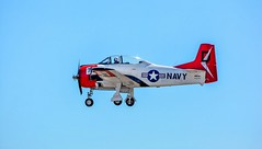 Suspended animation (Images by Christie  Happy Clicks for 2016!) Tags: t28dtrojan plane navy ngc