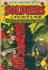 Soldiers of Fortune 12 (Michael Vance1) Tags: art adventure artist anthology war soldier comics comicbooks cartoonist silverage