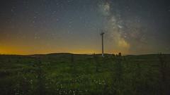 MW Slider test (elganjones1) Tags: timelapse wales astrophotography test sony a6000 samyang 12mm f20 stars night sky low light elgan jones digislider