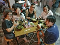 Dinner with my sister and brother (Alfred Life) Tags: aunt auntie uncle david una   summarith12227 summarit leicaduallenses  asph   leica huawei plus p9 huaweip9plus