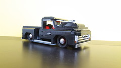 Lego Ford F100 pick up hot rod_5 (G60_Marco) Tags: ford pick up f100 hot rod black lego