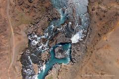 Through the desert (Tmas Freyr) Tags: landscape iceland north phantom sland aerialphotograph drone landslag loftmyndir loftmynd dji skjlfandafljt norurland hrafnabjargafoss hrafnabjargafossar djiphantom phantomvision2 drni