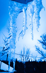 Cold country winters (retrum4) Tags: winter cold ice freeze freezing below zero blue burr snow days