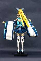Kirika Towa Alma (Pate-keetongu) Tags: lego character elf sleeves moc platformshoes