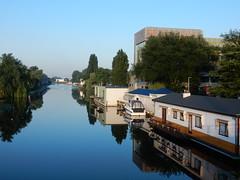 Reflection (sander_sloots) Tags: rotterdam houseboats vaart woonboten