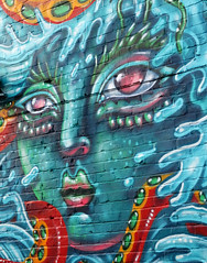 City of Colour, Urban Art (photobobuk - Robert Jones) Tags: city uk england urban colour art texture birmingham colours tone digbeth