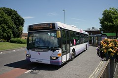 First Hampshire 65011 YN54 NZG (Bristol MW Driver) Tags: canoneos5d firsthampshiredorset 65011 yn54nzg portchester
