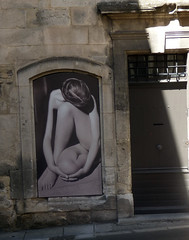 Arles, France (ronmcbride66) Tags: arles france museum exhibition doorway girl art knees shadow sunlight street stilllife photography photographyexhibition vividstriking