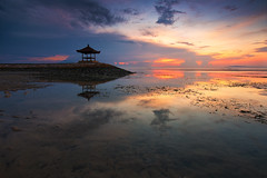 Signature Of Sanur, Bali (KembaraAlam) Tags: bali seascape reflection sunrise indonesia landscape photography dawn asia outdoor signature explore discovery photohunt phototrip sanur discover phototravel pantaikarang