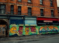 Manchester (Reynard_1884) Tags: manchester city olympus recordshop england clampdown olympusomdem5 lancashire greatbritain micro43rds em5 mu43 microfourthirds mirrorless uk olympusomd