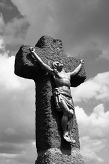 a szenvedő Krisztus / the sufferings of Christ (debreczeniemoke) Tags: spring cross peak hike tavasz gutin túra kereszt feketehegy jézus csúcs mogoşa gutinhegység munţiigutâi munţiigutin olympusem5 gutinmountains