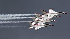 Working At Perfekt (Skeeter Photo) Tags: minnesota airshow f16 thunderbirds usaf mn dlh usairforce 2016 avgeek kdlh chrislundberg duluthiap duluthairandaviationexpo
