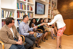 Graduates Receive Gifts from Extern Supervisors