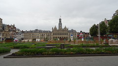 St Quentin town square, Picardy, France (Richard Buckley) Tags: somme centenary picardy france battle war memorial poppies field corn scene view statue soldier basilica cross headstone grave greatwar worldwar1 caribou troops irish newfoundland australian shell artillery cemetery trench ceremony