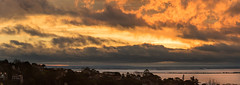 Sky on fire in Porto Alegre (Felipe Valduga) Tags: portoalegre riograndedosul nikon nikond750 panorama bit sunset