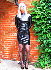 PVCPatsy PatsyPVC Fetish Tight Shiny PVC Dress Outdoors (PVCPATSY TV) Tags: pvcfetishslut pvc latex fetish tight dress shiny outdoors transvestite shinystockings 6inchhighheels pvcfetishdress