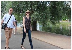 Patrick and Milly in Regent's Park (ec1jack) Tags: regentspark royalpark westminster cityofwestminster london england britain uk europe summer 23rd july 2016 ec1jack canoneos600d kierankelly