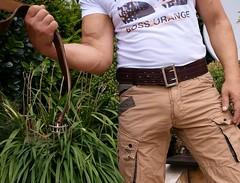 rbl09 (armybelt007) Tags: beltfetish beltinjeans beltanddenim wideleatherbelt widebelt crotch crotchgrab spanking malebutt denimandleather dutybelt domination armybelt militarybelt