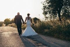 Our way (lapenna9_9) Tags: wedding reportage love life couple bride groom sunset abruzzo teramo matrimonio romantic summer hand portrait