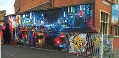 by DAN KITCHENER - CAMDEN 2016 (EloquentNoiseUK) Tags: dank art streetart mural london camdentown dankitchener graffiti