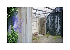** (ha*voc) Tags: minoltacle film rangefinder fuji160pros amsterdam urban urbanfragments urbanentropy texture abstraction urbanabstraction minoltarokkor40mmf2