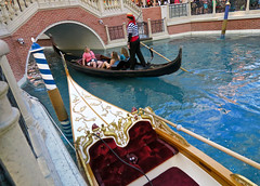 Gondolas of Fake Venice (Mondmann) Tags: gondola gondolas fakevenice venetian thevenetian hotel casino resort lasvegas sincity nevada usa unitedstates america water canal canals ride transport tourism touristattraction mondmann canonpowershotg7x