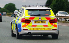 Cheshire Motorway Police Vehicle (sab89) Tags: cheshire motorway police vehicle m56 dk65 ahn bmw 5 five series 248 touring estate