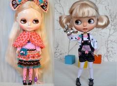 Blythe transformation. Standart Doll vs Custom Doll.