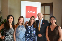 "AEM TheWoodlands ""Breakfast with ambassador Andres Rozental"""