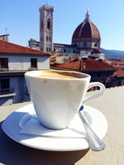 Caffe With a View...Florence Italy (bonniecairns1) Tags: italy italian duomo florence coffee cafe rooftop travelphotography vacation holiday caff