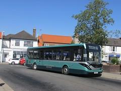 East Yorkshire 137 YX65RLO Hessle Square on 66 (2) (1280x960) (dearingbuspix) Tags: eastyorkshire eyms alexanderdennis adl 137 demonstrator enviro200mmc enviro200 mmc majormodelchange yx65rlo