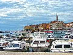 Rovinj (Gorky1985) Tags: goran rovigno cosic croatia clouds colors city rovinj kroatien sony summer sea adriatic adria jadransko more harbor boat sailboat old istrien istria water h2