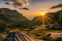 Rila Sunset (pietkagab) Tags: rila mountains mountainside sunset light rocks bulgaria europe pietkagab piotrgaborek photography pentax pentaxk5ii travel trip trekking trek hike landscape mountainview adventure