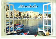 IT-381215 001 (Iridale) Tags: it381215 italy italia sicilia mondello mare sea seaside spiaggia postcards cartoline postcrossing