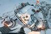 Messplattform des Sonnblick-Observatortiums aus der Vogelperspektive. Quelle: ZAMG/Weyss (www.zamg.at) Tags: sonnblickobservatorium