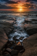Chute The Breeze (Eric Gail: AdventuresInFineArtPhotography) Tags: lajolla sandiego thechute sunset seascape canon6d ericgail adventuresinfineartphotography
