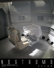 NOSTROMO-MOTHER-CHAIR3 (sith_fire30) Tags: alien nostromo scratchbuilding model building sheet styrene diorama prometheus covenant narcissus shuttle ripley rildley scott mother muthur6000 sithfire30 dayton allen custom action figure