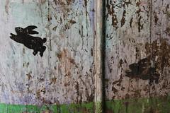 Nemo_21280 place du 21 avril 1944 Saint Denis (meuh1246) Tags: streetart animaux nemo place du 21 avril 1944 saint denis lapin