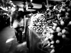 At the market (martina.stang) Tags: bokeh hmbt market highcontrast street people vegetables radish streetphotography paris montparnasse blur